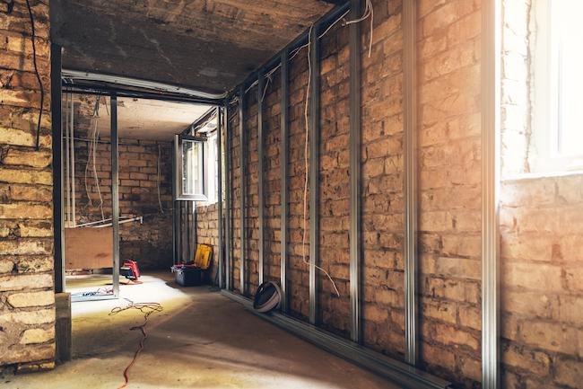 Isolatie Badkamer Muur : Gyproc voorzetwand plaatsen prijs opbouw isolatie vochtige muren